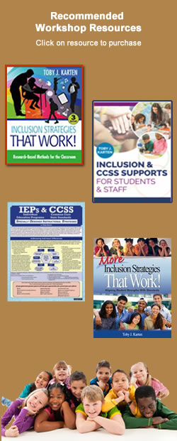 Inclusion Workshop Resources